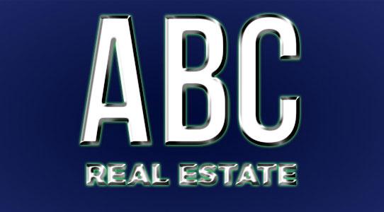 Realtor branding fake logo