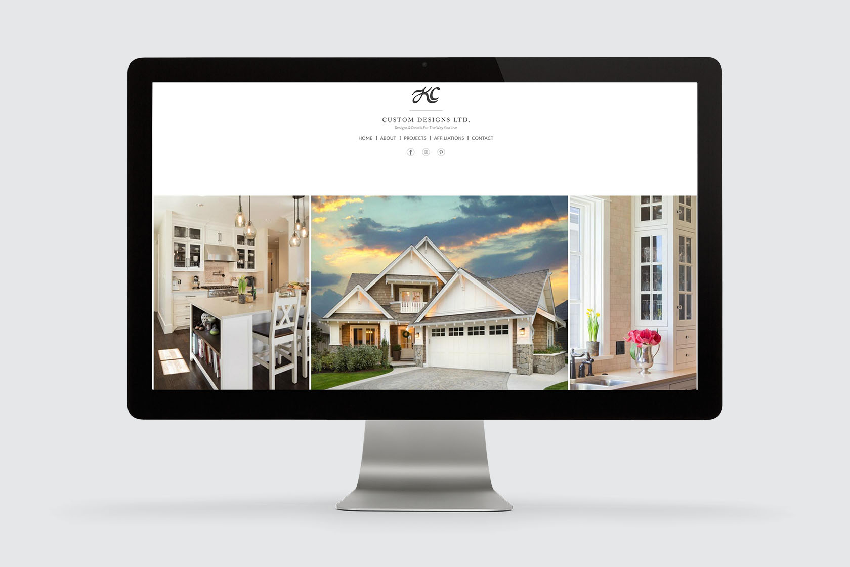 Kc custom designs ltd for Design homes kc