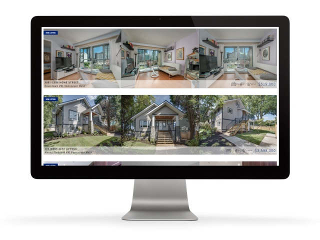 ken stef real estate branding and website design