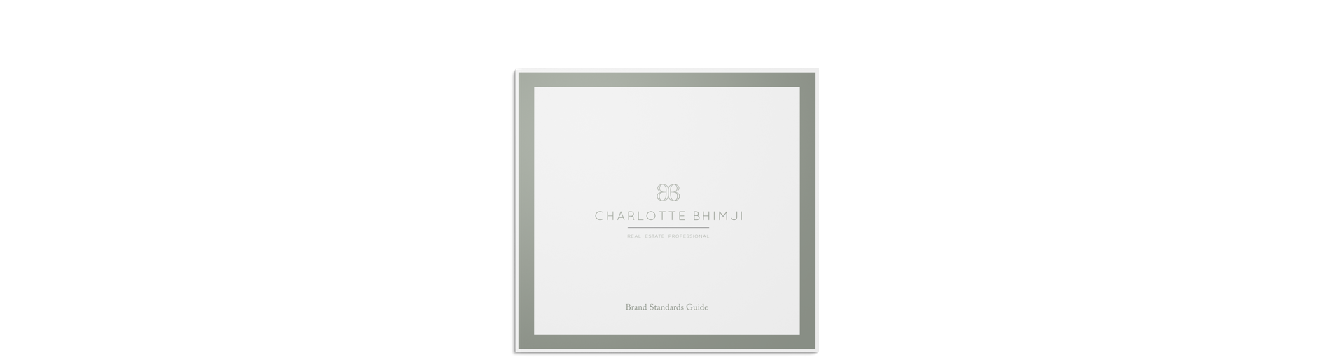 Realtor branding and website design for Charlotte Bhimji magazine branding