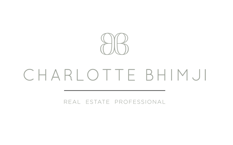 Realtor Website design and branding for Carlotte Bhimji, logo design