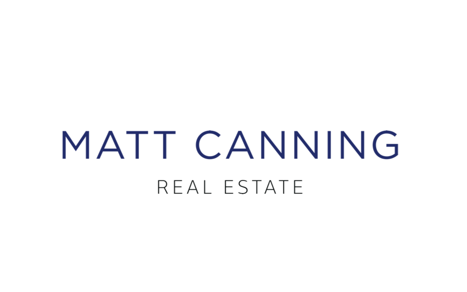 Real estate branding and website design logo for Matt Canning, Fraser Valley