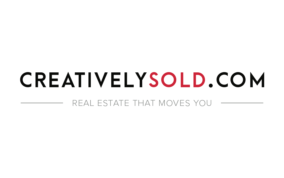 Real estate agent marketing - branding for creativelysold.com