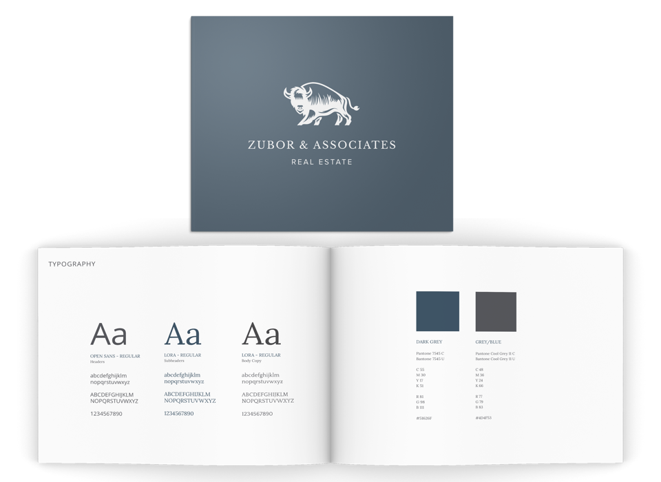 Zubor & Associates Real Estate Branding