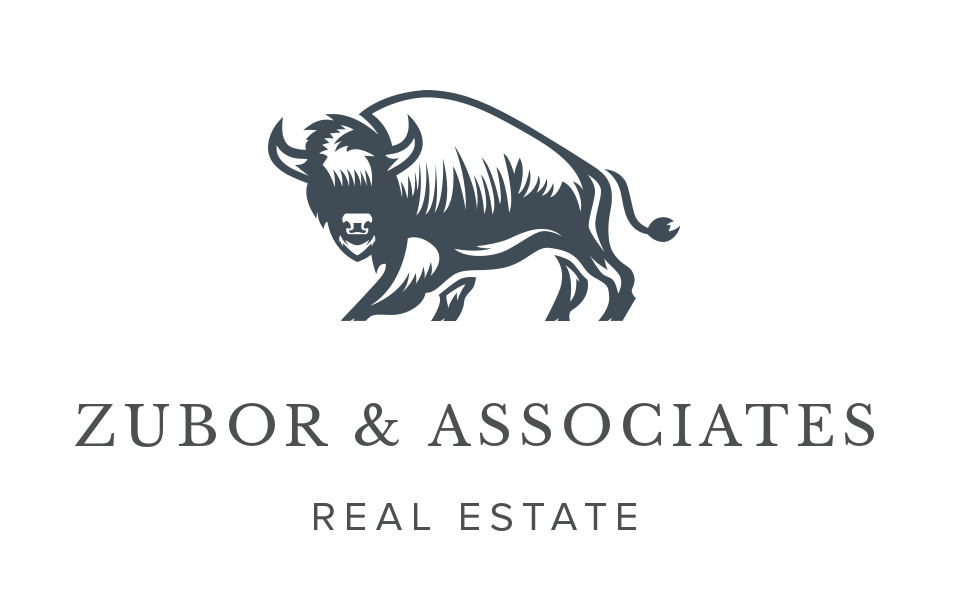 Zubor & Associates Real Estate Branding Logo Design