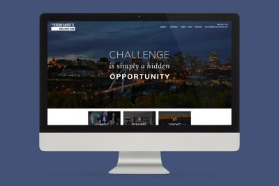 Jeremy Amyotte Portfolio Feature Image Desktop website design display