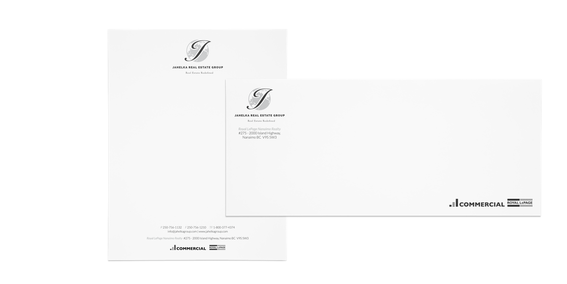Jahelka Real Estate Group stationery