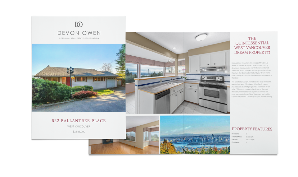 Effective property marketing to showcase her houses & condos for sale