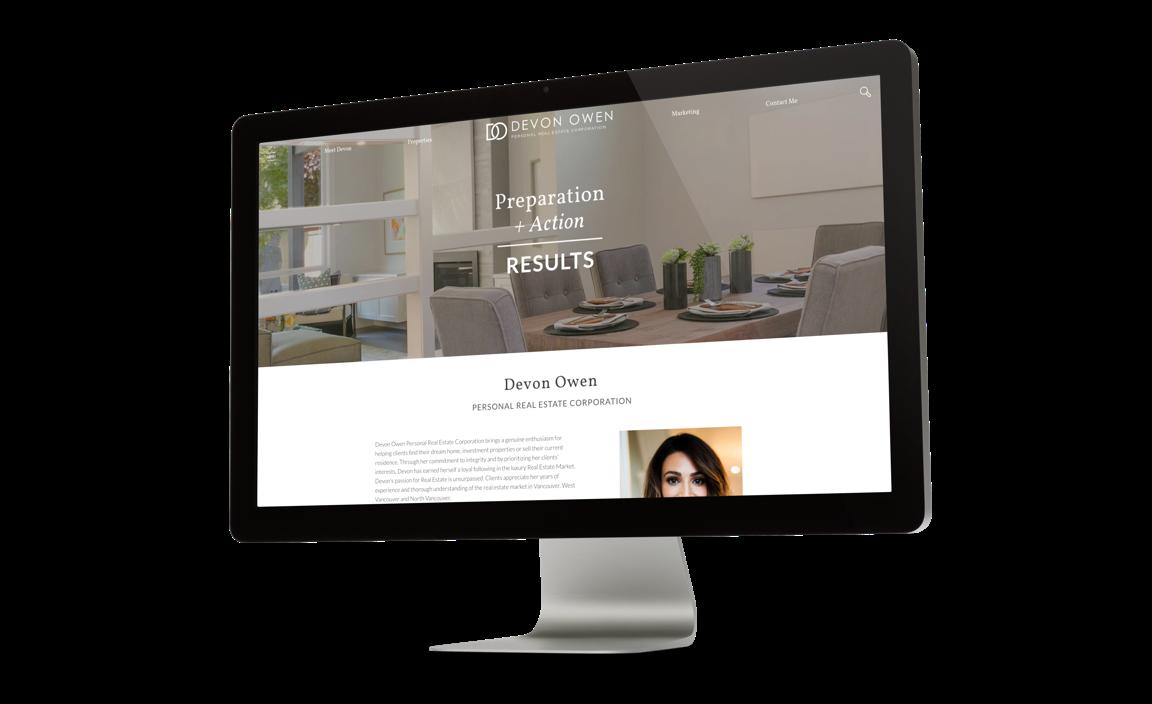 Devon Owen's Real Estate Website Offers a Full MLS Search across Vancouver