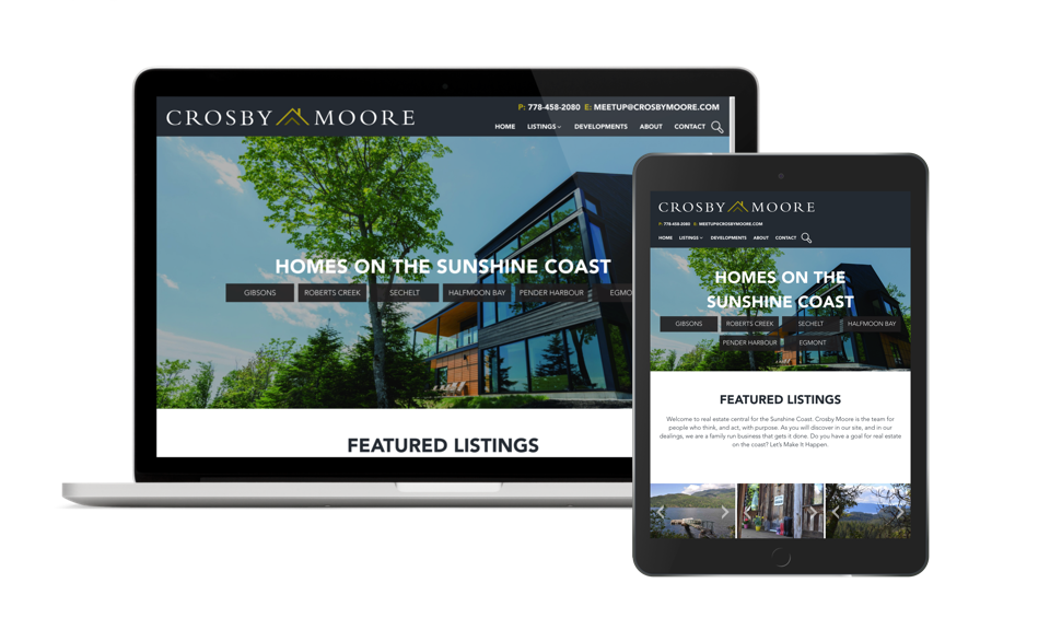 Sunshine Coast Real Estate Team Website Design