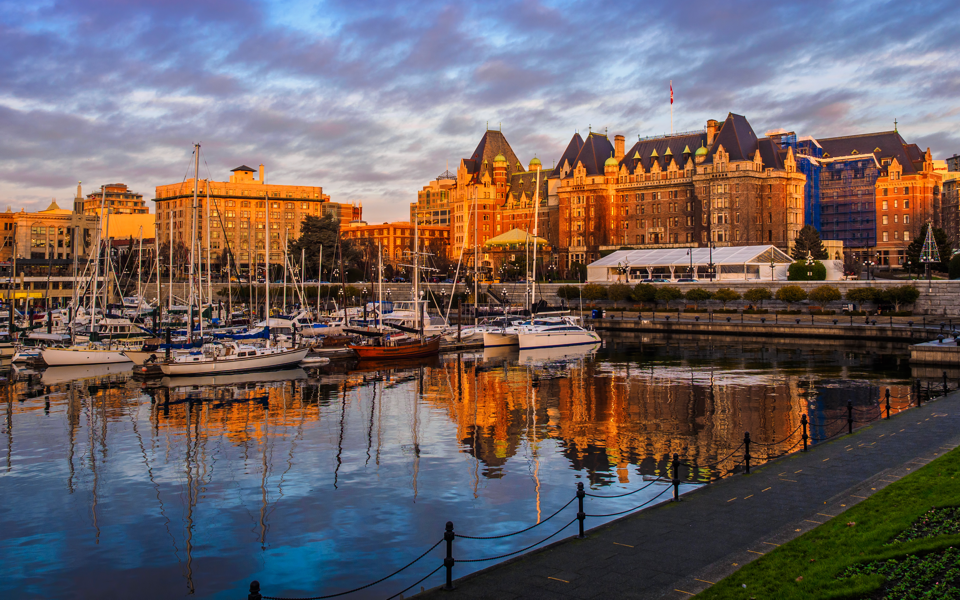victoria harbour, Vancouver Island, BC