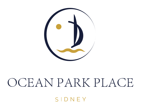 Real Estate Project Marketing Branding and Logo Design for Ocean Park Place, Sidney BC