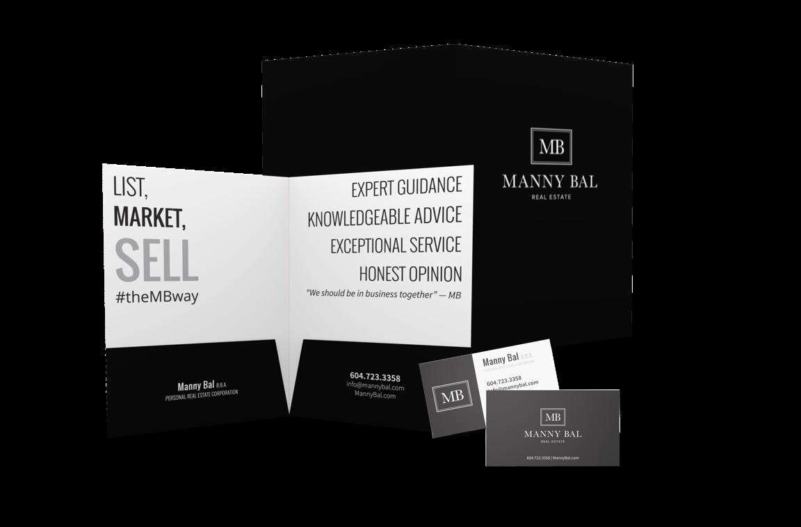 Manny Bal brochures