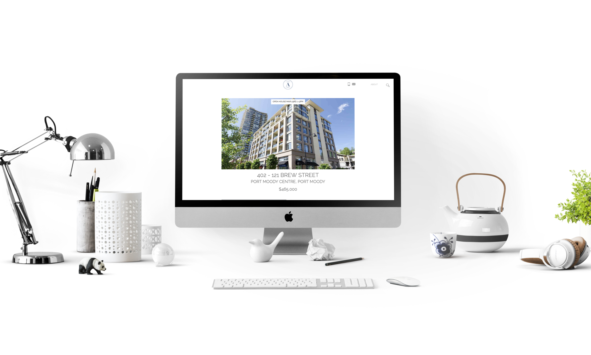 Greater Vancouver Real Estate Custom Website