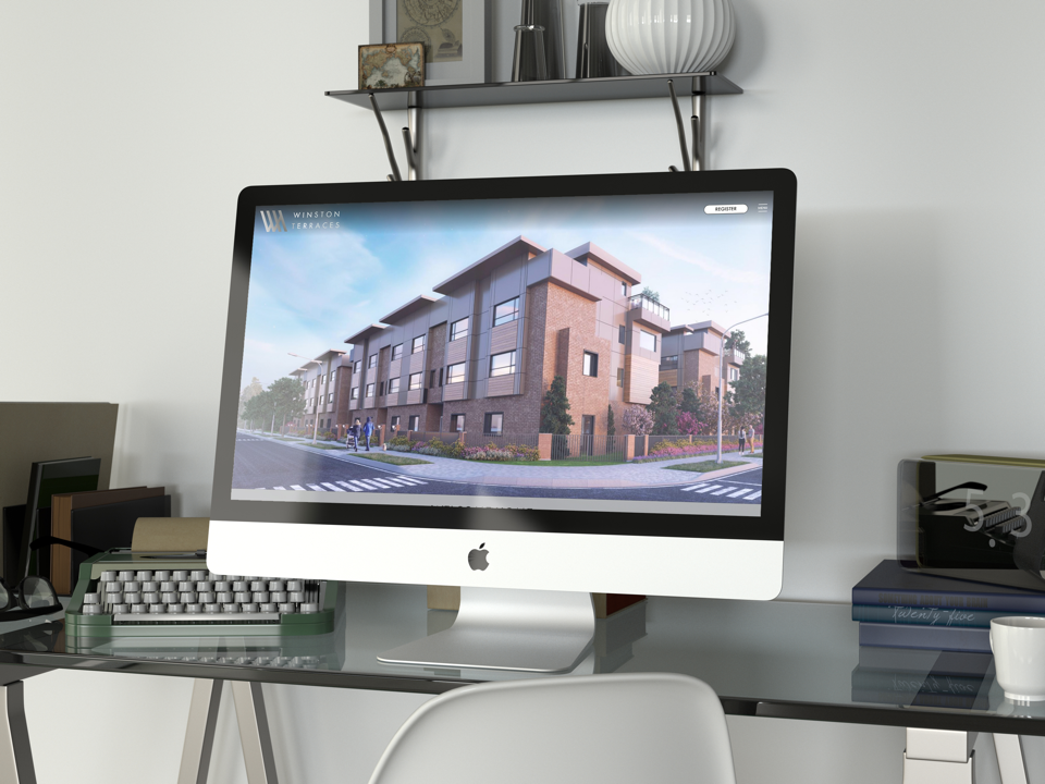 Langely Townhome Development Custom Website Design