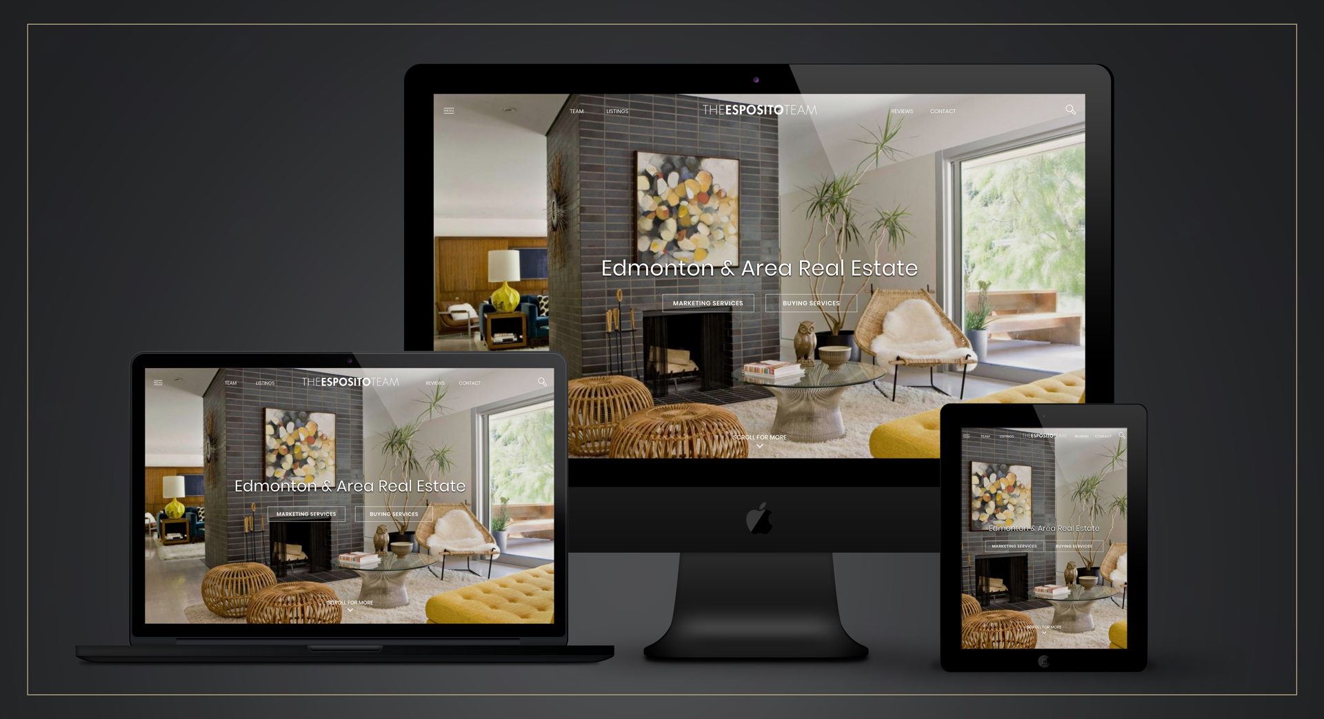 Esposito Team Real Estate Team Responsive Website Design