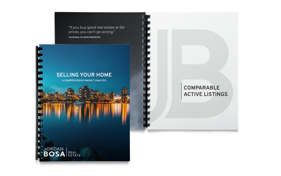 Jordan Bosa Real Estate CMA Stationery Design