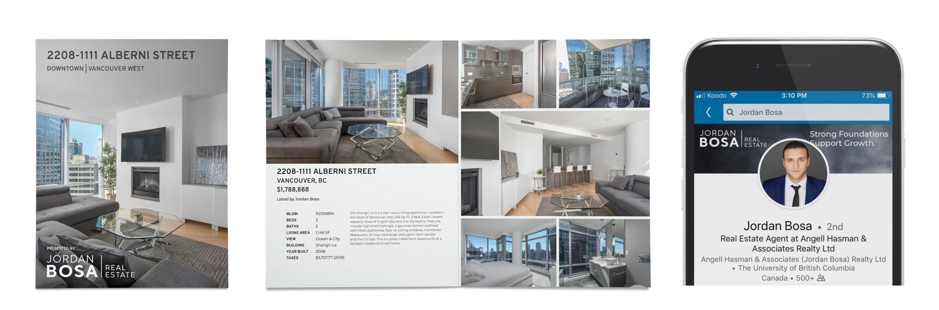 Jordan Bosa Vancouver Real Estate Feature Sheets