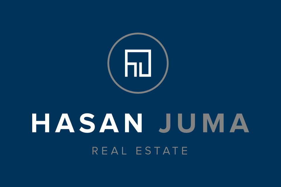Hasan Juma Real Estate Type Art Branding Logo Design