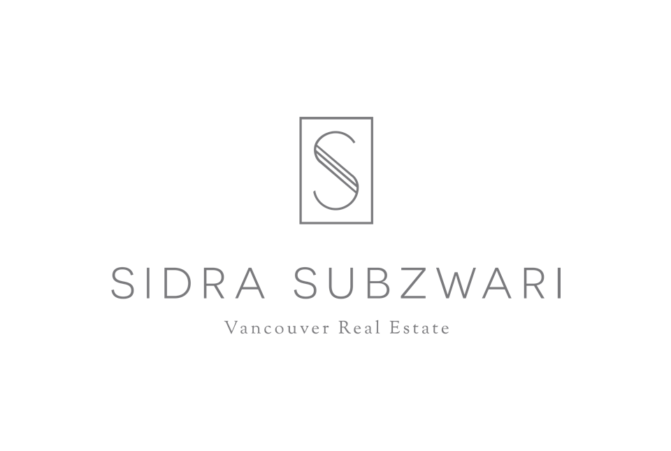Sidra Subzwari final logo Real Estate branding in White Rock