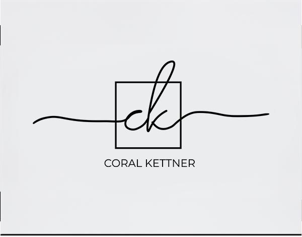 coral Kettner handlettered branding