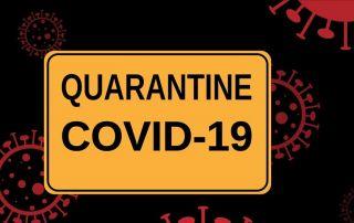 Quarantine Covid-19 Sign