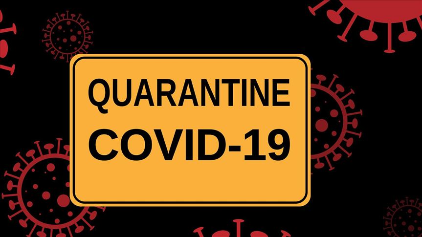 Quarantine Covid-19 Sign