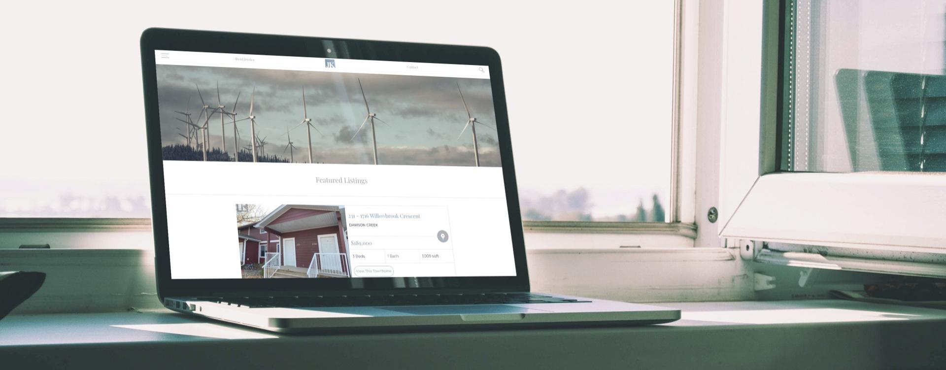 Personalized Realtor® website design with Dawson Creek MLS® listings
