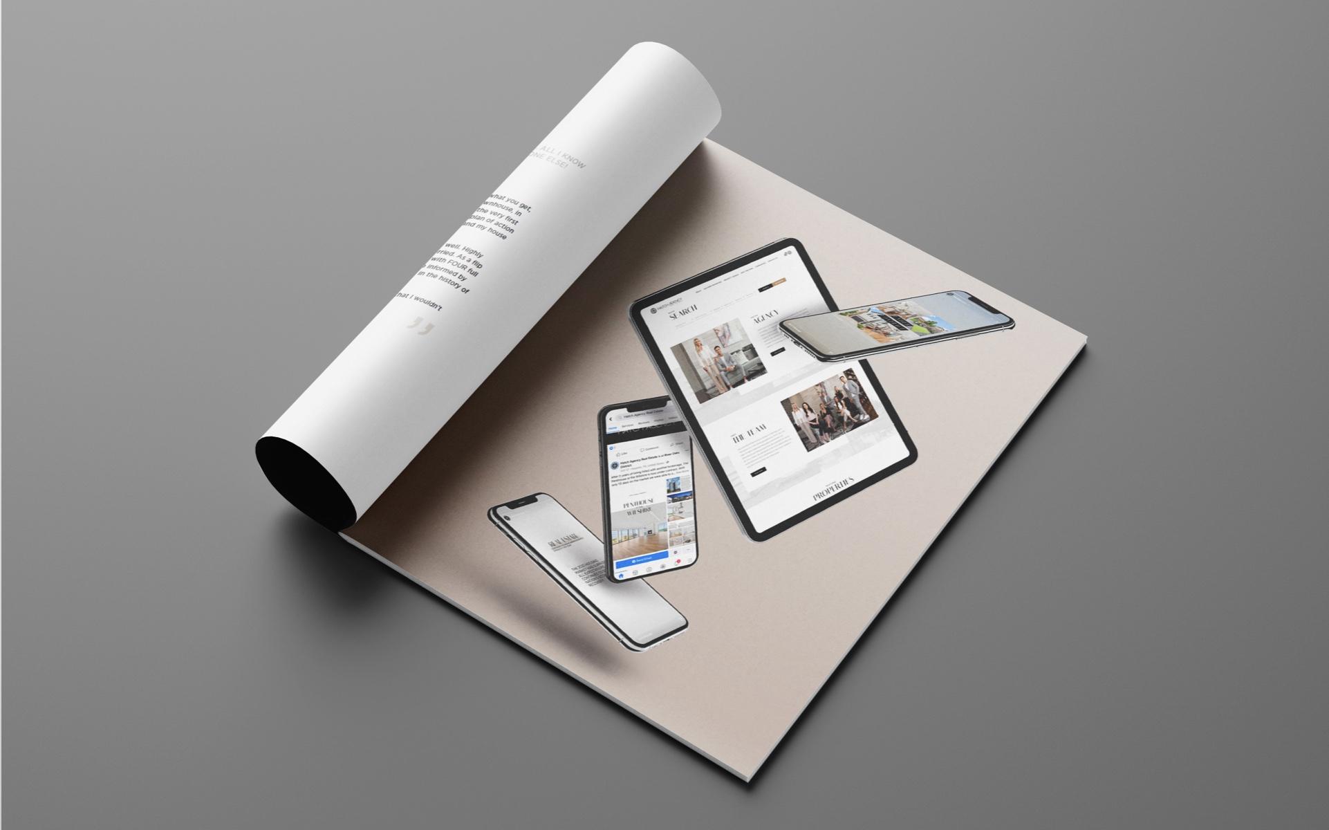 Mobile Showcase in Custom Listing Booklet