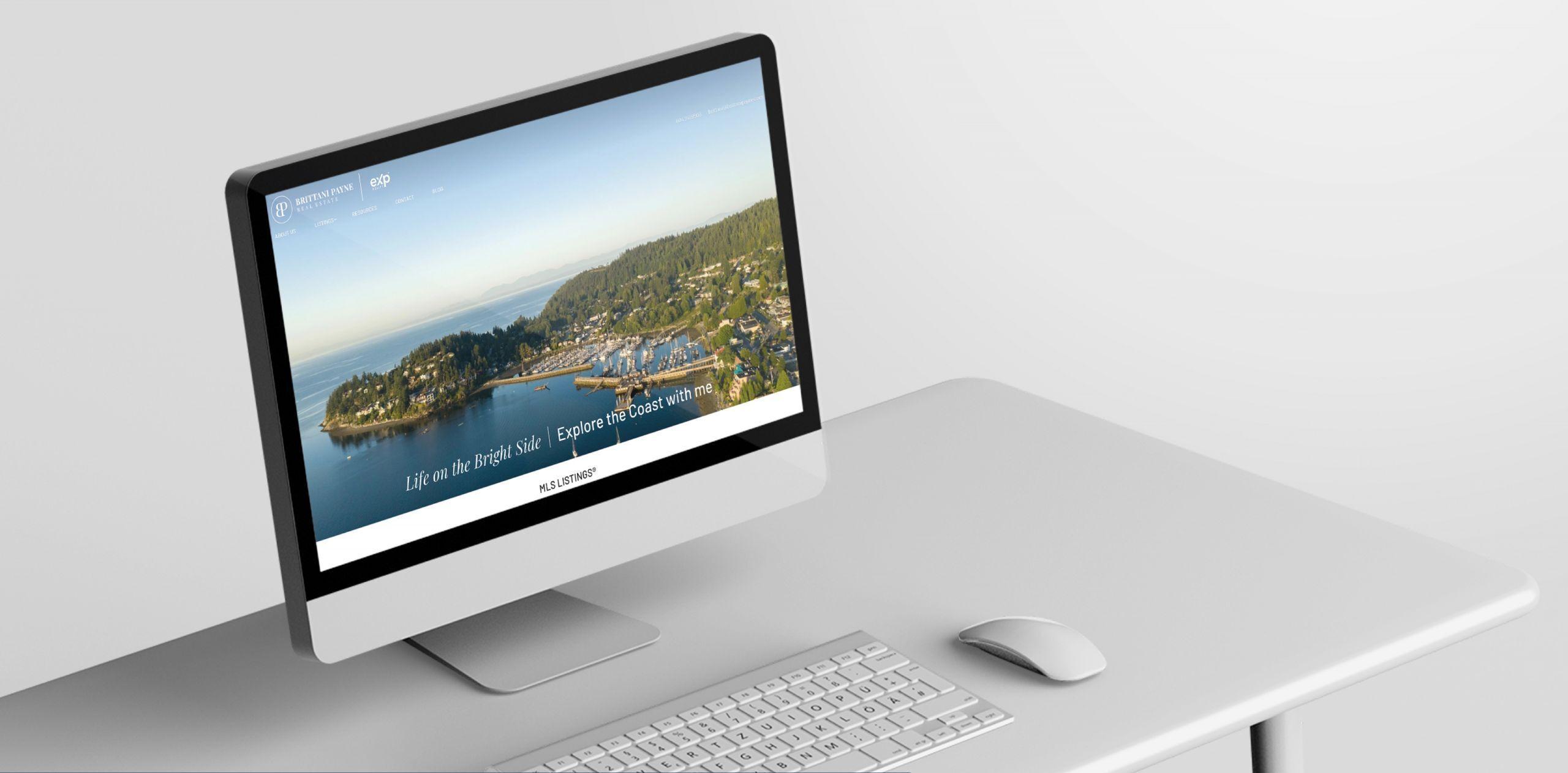 Sunshine Coast Realtor Landing Page