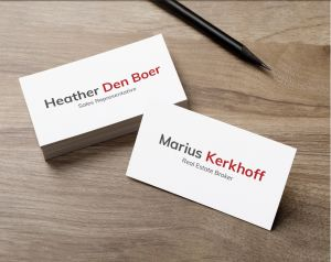 Ask Marius Custom Business Cards