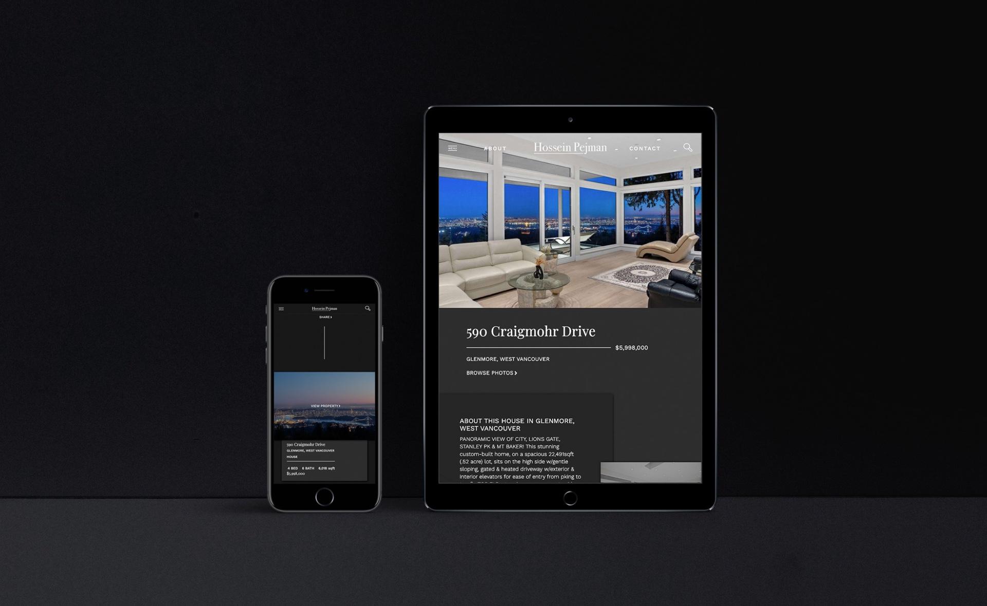 Digital First Structure for Custom Designed Website