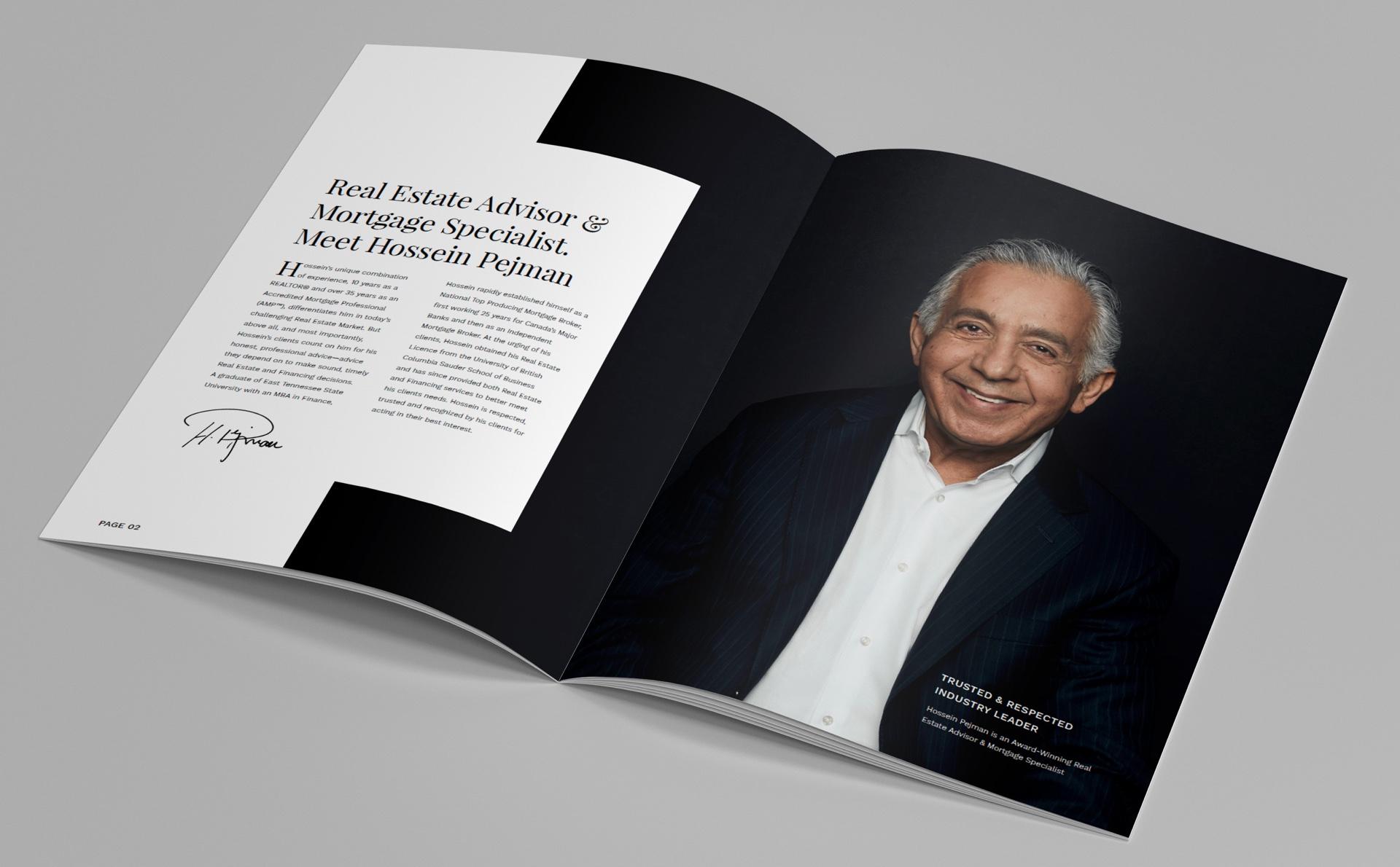 custom print media for BC Real Estate Agent