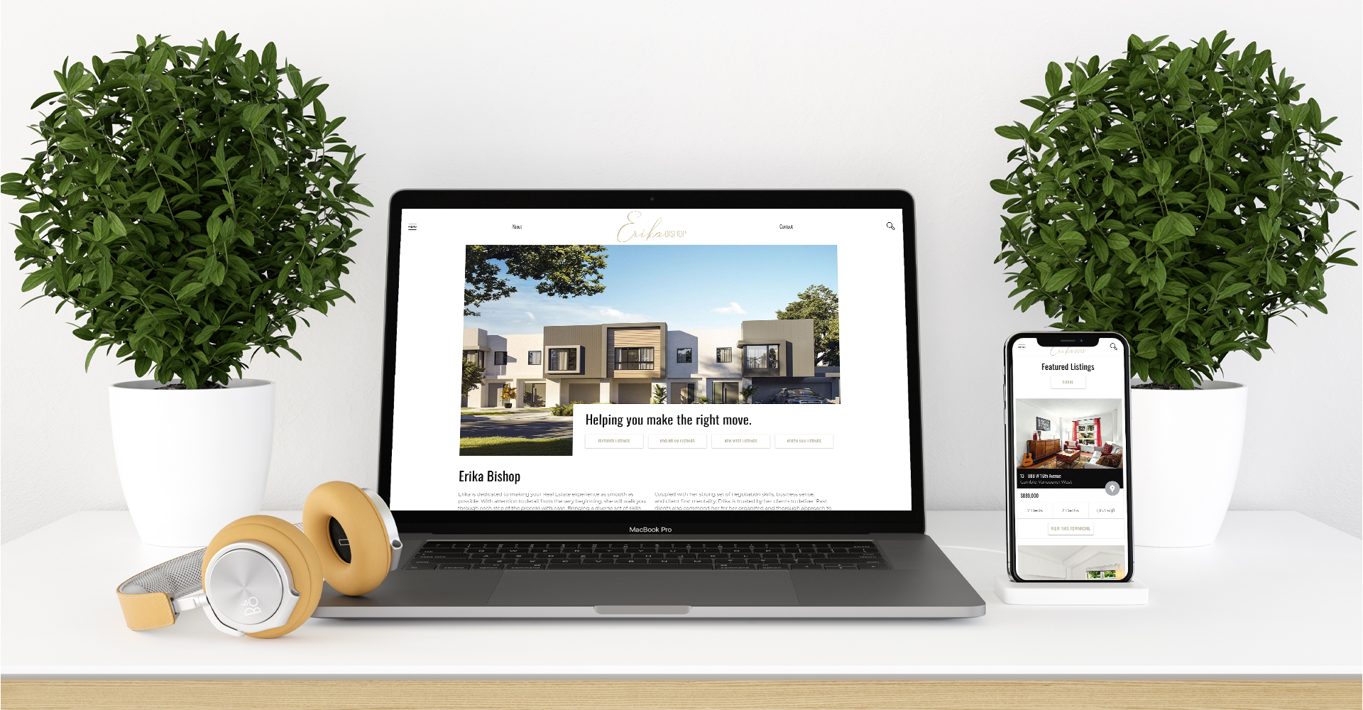 Tri-Cities Realtor Landing Page