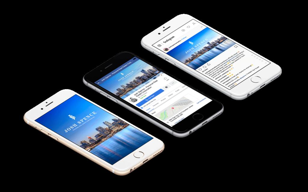 Mobile first website structure for Real Estate Website